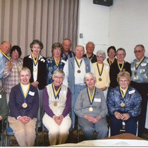 10th anniversary of West County Museum and Volunteer awards, May 2003