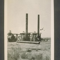 Boiler plant La Belle well number three, front view