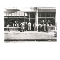Dickson-Bull employees stand in front of their storefront on Telegraph Avenue between ...