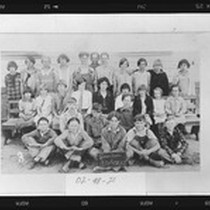 American Colony Grammar School, 6th grade class
