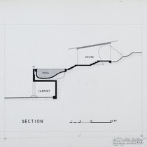 Albert Frey: Frey House 2, section