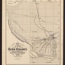 Map of a part of Kern County: compiled from official surveys & ...