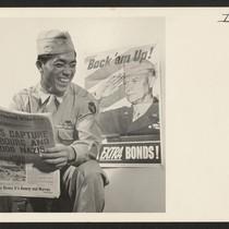 Pfc. Thomas Higa, 27-year-old Japanese American war veteran and smallest member of ...