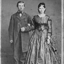 Birth parents of Charles A. Kofoid: Nels Kofoid (1838-1908) and his wife ...