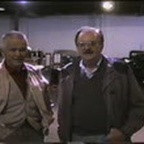 Edward Towe and Dr. Mario Kaplan at the Towe Ford Museum, Sacramento, ...