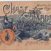 Chase & Sanborn, tea and coffee importers