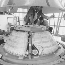 Apollo vehicle earth landing systems testing