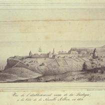 View of the Russian establishment, 1827