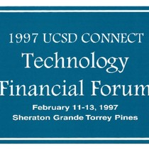 1997 UCSD CONNECT Technology Financial Forum