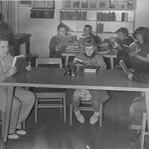 1957 Library Week, Woodlake, Calif