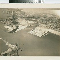 [Aerial photograph of Richmond inner harbor, 1928]