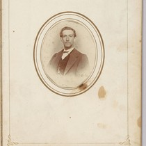 A.V. Fatjo. [Antonio V. Fatjo, Junior?; a young adult, circa 1865-1870.]