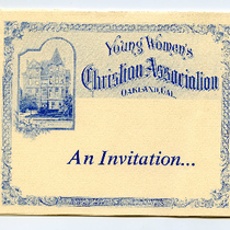 Centennial Committee invitation to Founder's Day Tea