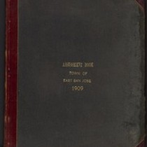 Assessment Book, East San Jose - 1909