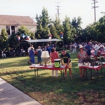 Event Outside Meridian Iron Works