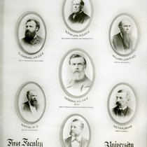 First faculty of the University of California Dental Department