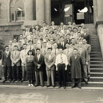 1954 University of California San Fransisco's Dentistry graduating class. Annie Chin Siu ...