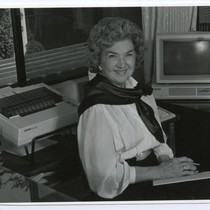 Helen Young in later life, 1980s