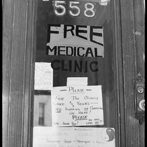 """560 558 FREE"" (sign), Haight-Ashbury 1967"