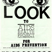 LOOK to the AIDS Health Project flyer