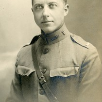 Malcolm Goddard in uniform