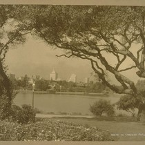 View of Lakeside Park [Lakeside Park is located south of Grand Avenue, ...
