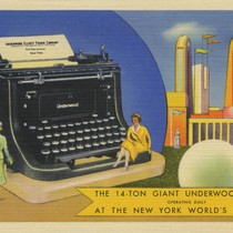 The 14-Ton Giant Underwood Master operating daily at the New York World's ...