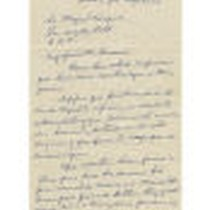 Letter from Agustin Venegas to Miguel Venegas, May 31, 1976