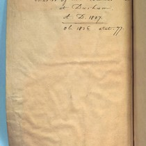 Williams notebook, insert between pages 76 and 77, verso