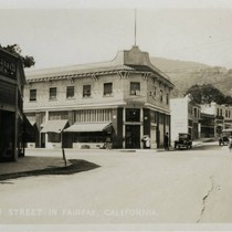 Main Street (now Broadway) Fairfax, Marin County, California, circa 1930 [photograph]