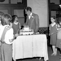 75th Anniversary celebration--Girl Scouts