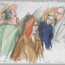 1/21/76 F. Lee Bailey, Patty Hearst, [Parents] Mrs. Catherine Hearst & Mr. ...