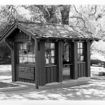 Attendant's Station at Cuyamaca Rancho State Park Entrance