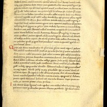 Ab urbe condita detached manuscript leaf