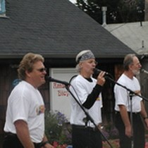 Band Playing at Wharf-to-Wharf Race