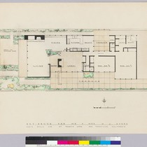Ahearn Residence, plan, San Francisco, 1946