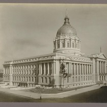 [City Hall from southeast.]