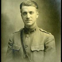Alanson Weeks in uniform