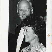 Charles and Anne Lindbergh Attend Gold Medal Award Dinner