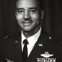 Portrait of Charles E. McGee in uniform