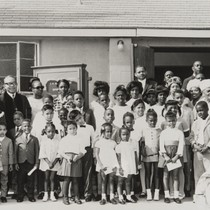 Bethel A.M.E. Church, Oxnard, Sunday School : 1967 ; Reverend C. N. ...