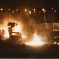 "Car crash stunt sequence from ""Bad Boys"" (9)"