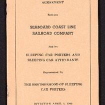 Agreement between Seaboard Coast Line Railroad Company and its sleeping car porters ...