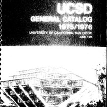 UC San Diego General Catalog, 1975-1976
