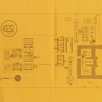 Map of West Valley College, Campbell campus with classroom numbers, Fall 1968
