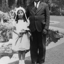 Rose Veyna's First Communion, Anaheim [graphic]