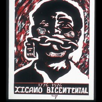 1776-1976 Xicano Bicentenial, Announcement Poster for