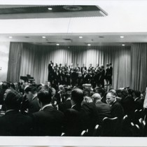 Choral Performance at the 1964 Pepperdine College Freedom Forum