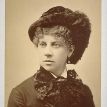 [Mrs. I.W. Taber. Photograph by Isaiah West Taber.]