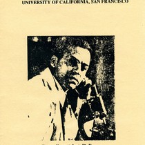 Flyer - Recognition of black faculty and postdoctoral fellows Ernest Everett Just, ...